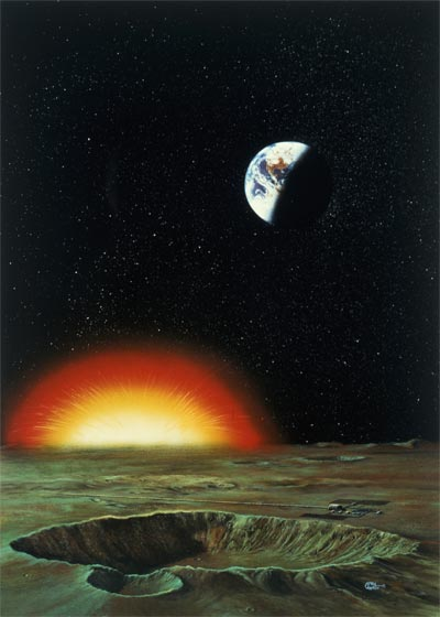 Asteroid Hit by April Lawton