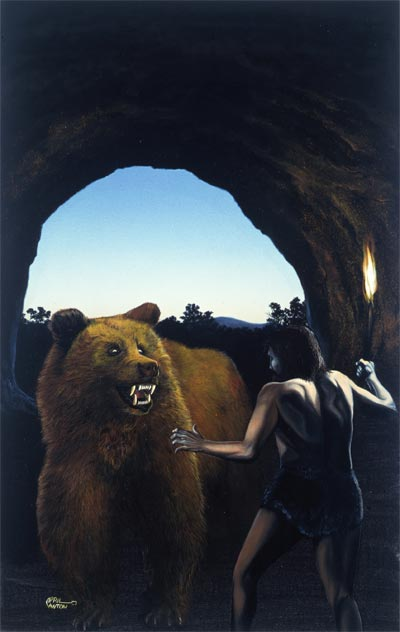 Cave Bear by April Lawton