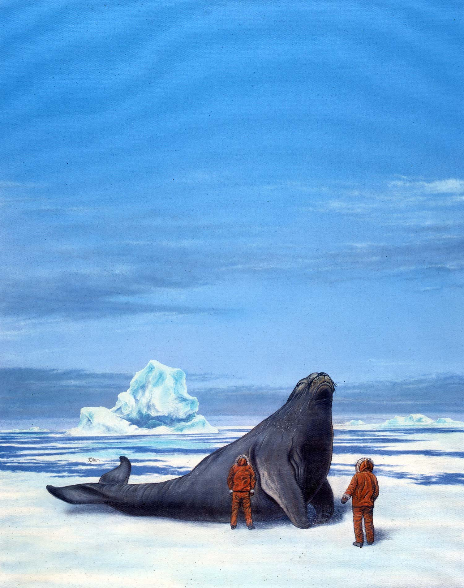 Steller's Sea Cow by April Lawton