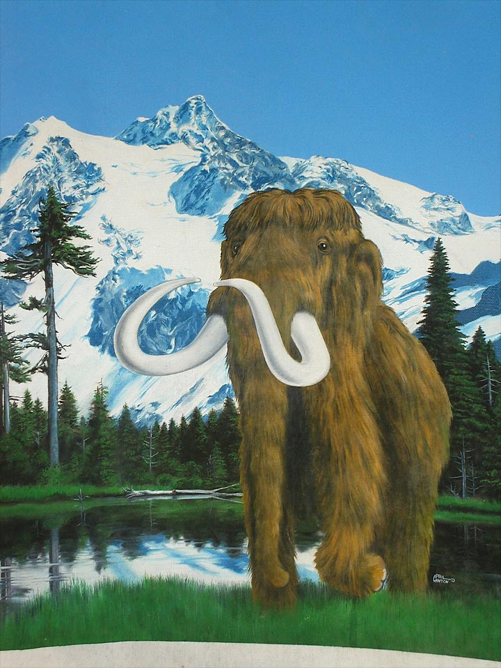 Wooly Mammoth by April Lawton